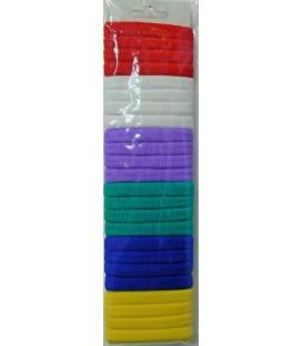 Pack de gomas para el pelo I (24 unidades)