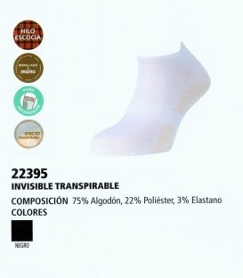 Pack de 3 calcetines caballero invisibles Ysabel Mora