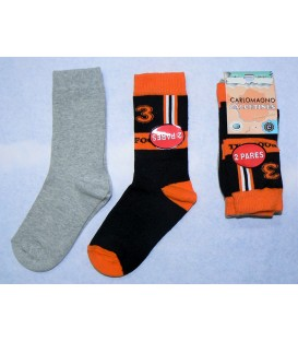 Pack calcetines Carlomagno Football 2 pares
