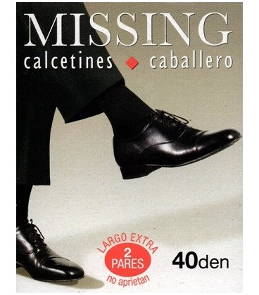 Calcetines caballero antipress Missing 2 pares