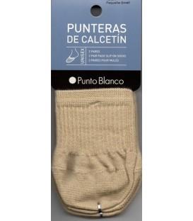 Pack Punteras Punto Blanco 2 pares