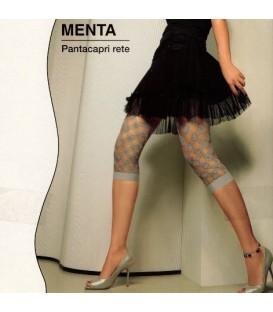 Leggings cortos Menta en fantasía