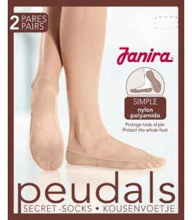 Peudals Nylon Simple (2 pares)