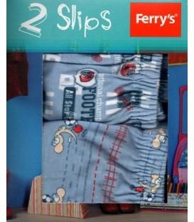 Slips niño fantasía Ferrys (2 unidades + regalo)