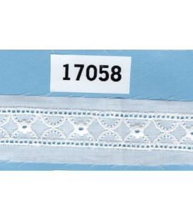 Tira bordada Bordados Unidos 17058
